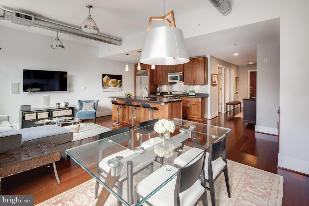 Floor-to-ceiling windows - 1600 CLARENDON BLVD #W103, ARLINGTON
