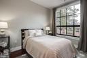 Master Bedroom with tree top views - 1600 CLARENDON BLVD #W103, ARLINGTON