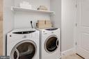 Full-size front-loading GE laundry - 1600 CLARENDON BLVD #W103, ARLINGTON