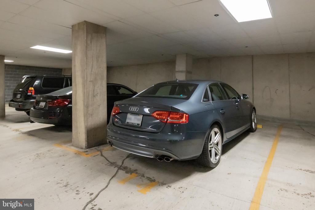 Parking space 14 on P1 - 1600 CLARENDON BLVD #W103, ARLINGTON