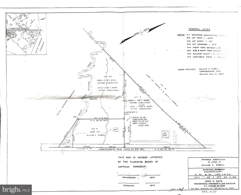 土地,用地 为 销售 在 Mullica Hill, 新泽西州 08062 美国