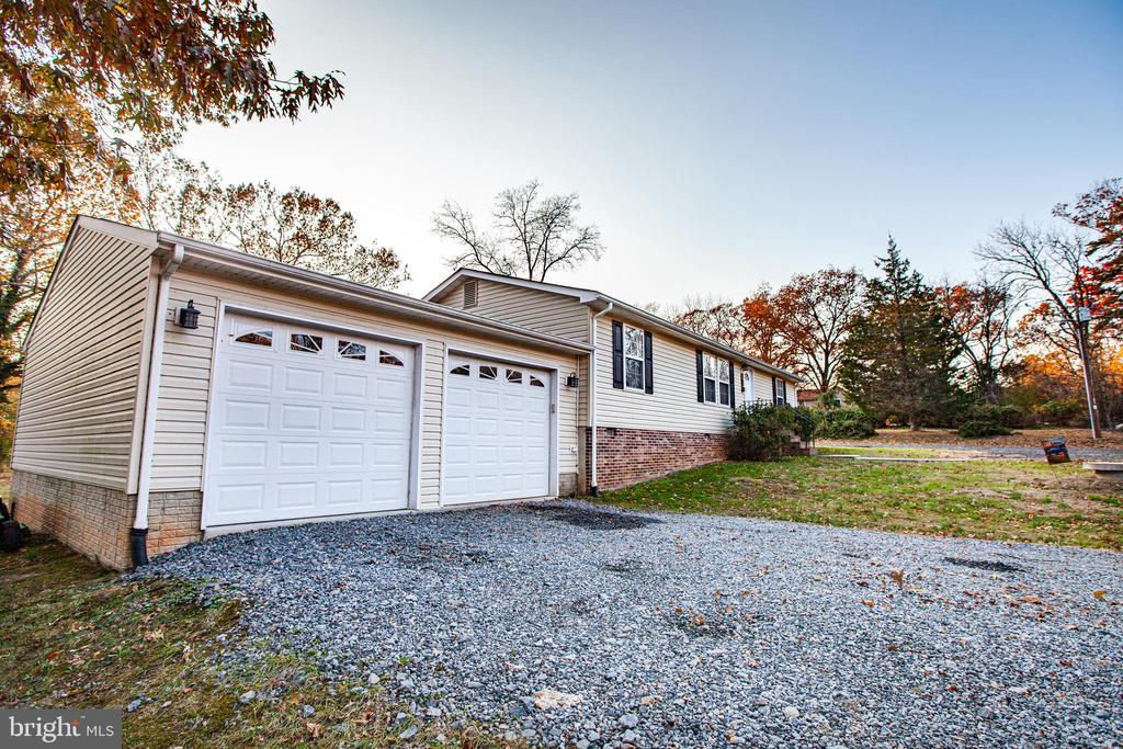 2 Car Attached Garage - 8708 BROCK RD, SPOTSYLVANIA