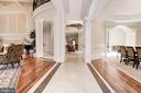 Hallway - Inlaid Floors - 904 CHINQUAPIN RD, MCLEAN