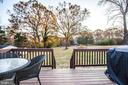 View from Rear Deck - 8708 BROCK RD, SPOTSYLVANIA