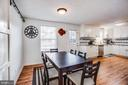 Kitchen with Table Space - 8708 BROCK RD, SPOTSYLVANIA