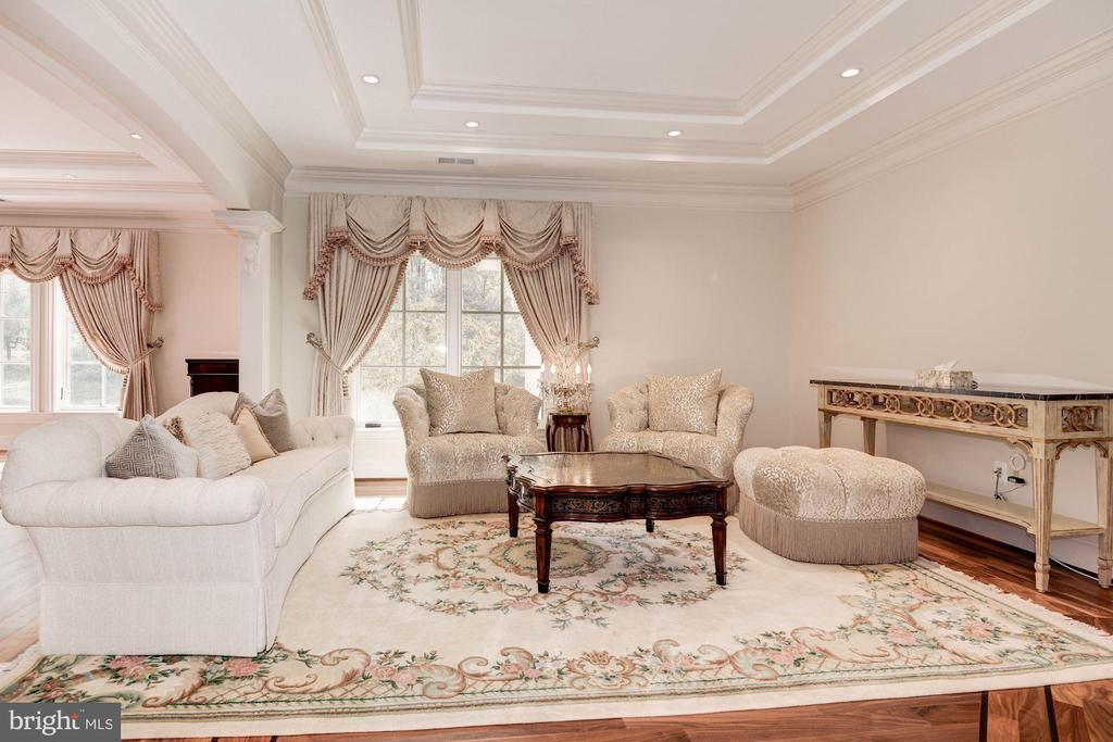 Master Suite Sitting Room - 904 CHINQUAPIN RD, MCLEAN