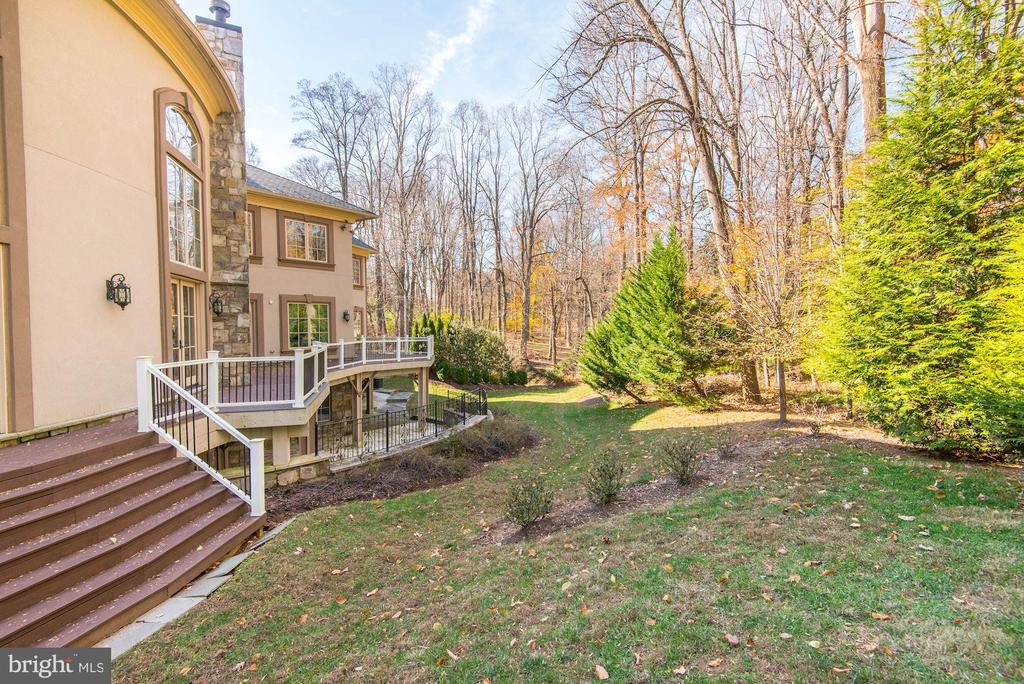 Rear Yard - 904 CHINQUAPIN RD, MCLEAN