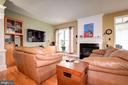 Living Room + Gas Fireplace - 3245 THEODORE R HAGANS DR NE, WASHINGTON