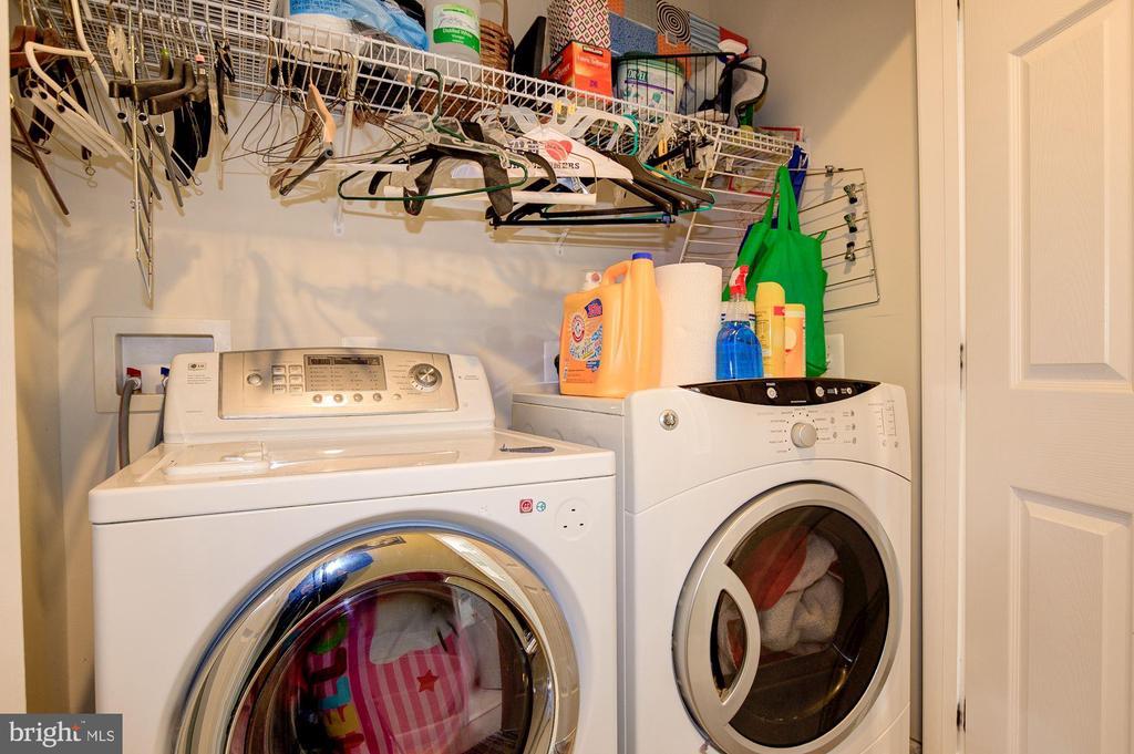 Large Laundry Closet - 3245 THEODORE R HAGANS DR NE, WASHINGTON