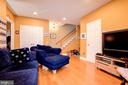 Finished Family Room in Lower Level - 3245 THEODORE R HAGANS DR NE, WASHINGTON