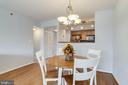 Dining Area - 1024 N UTAH ST #721, ARLINGTON
