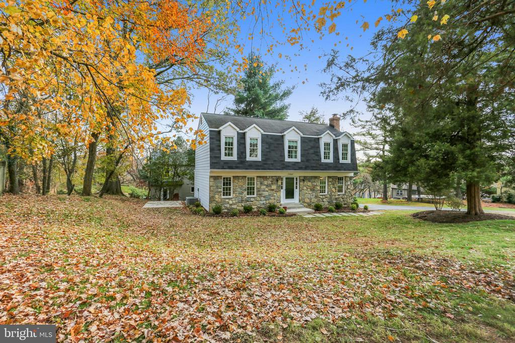 View from Front Property Line  of .4 Acre Lot - 11831 DINWIDDIE DR, NORTH BETHESDA