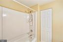 Full Bath on Lower Level - 11831 DINWIDDIE DR, NORTH BETHESDA
