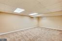 Recreation Room on Lower Level - 11831 DINWIDDIE DR, NORTH BETHESDA