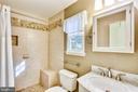 Renovated En Suite Master Bath - 11831 DINWIDDIE DR, NORTH BETHESDA
