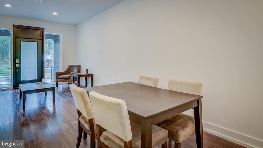 Unit B Dinning & Living Room - 4314 14TH ST NW, WASHINGTON