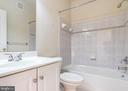 Full Hall Bathroom - 9501 KNIGHTS WALK, FREDERICK