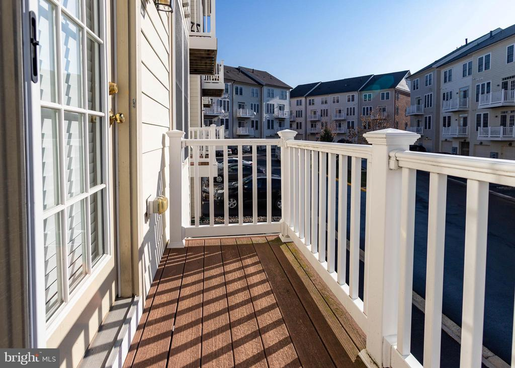 Walkout Balcony From Loft - 9501 KNIGHTS WALK, FREDERICK