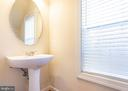 Main Level Powder Room - 9501 KNIGHTS WALK, FREDERICK