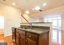 Center Island/Elevated Bar - 9501 KNIGHTS WALK, FREDERICK
