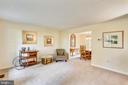 Living Room - 11831 DINWIDDIE DR, NORTH BETHESDA