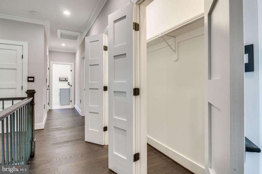 2nd level closets - 2144 PIMMIT DR, FALLS CHURCH