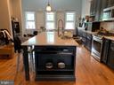 Unit A Kitchen - 4314 14TH ST NW, WASHINGTON