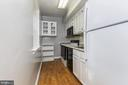 galley kitchen - 1307 N ODE ST #404, ARLINGTON
