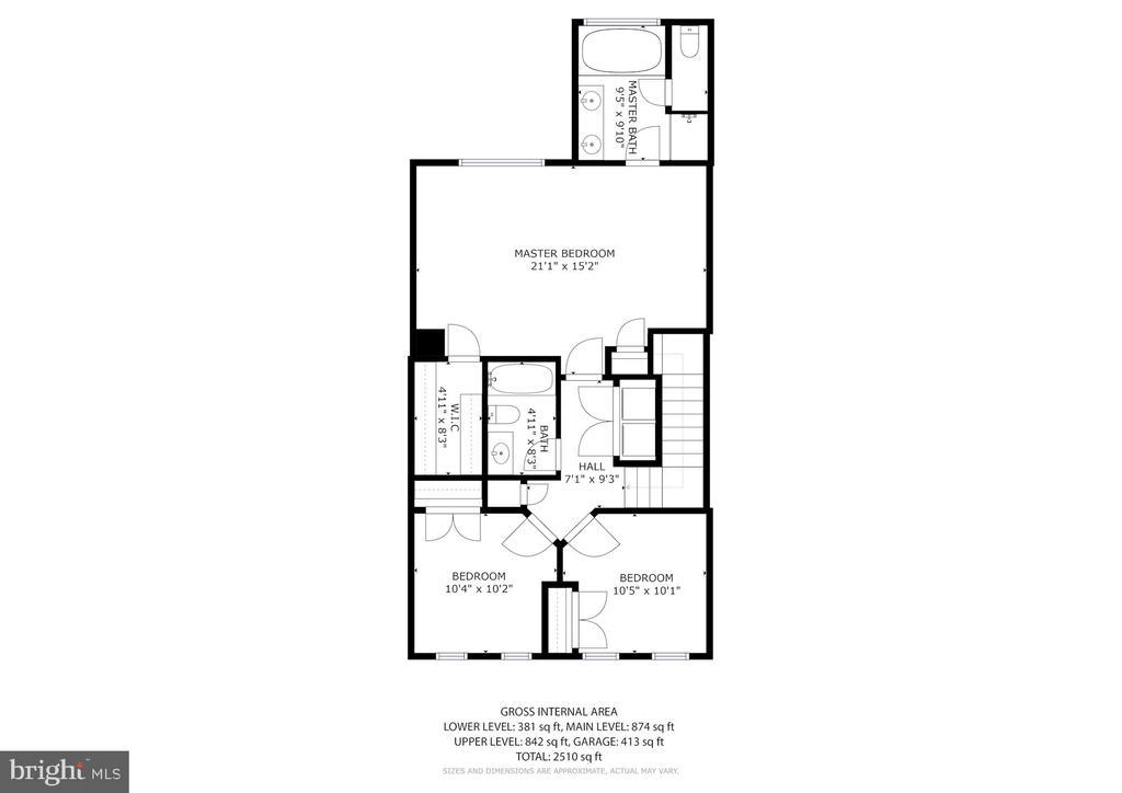 Second Floor - 3245 THEODORE R HAGANS DR NE, WASHINGTON