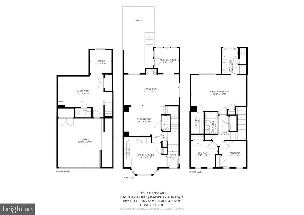 Full Floorplan - 3245 THEODORE R HAGANS DR NE, WASHINGTON