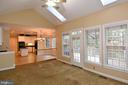 FAMILY ROOM HAS SKY LIGHTS AND CATHEDRAL CEILINGS - 8237 GALLERY CT, MONTGOMERY VILLAGE