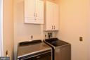 LAUNDRY ROOM ON MAIN LEVEL - 8237 GALLERY CT, MONTGOMERY VILLAGE