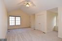 MASTER BEDROOM 1 HAS 2 CLOSETS - 8237 GALLERY CT, MONTGOMERY VILLAGE