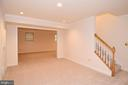 LOWER LEVEL STAIRCASE - 8237 GALLERY CT, MONTGOMERY VILLAGE