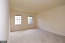 BEDROOM 3 FRESHLY PAINTED - 8237 GALLERY CT, MONTGOMERY VILLAGE