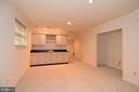 LOWER LEVEL HAS RECESSED LIGHTING THROUGHOUT - 8237 GALLERY CT, MONTGOMERY VILLAGE