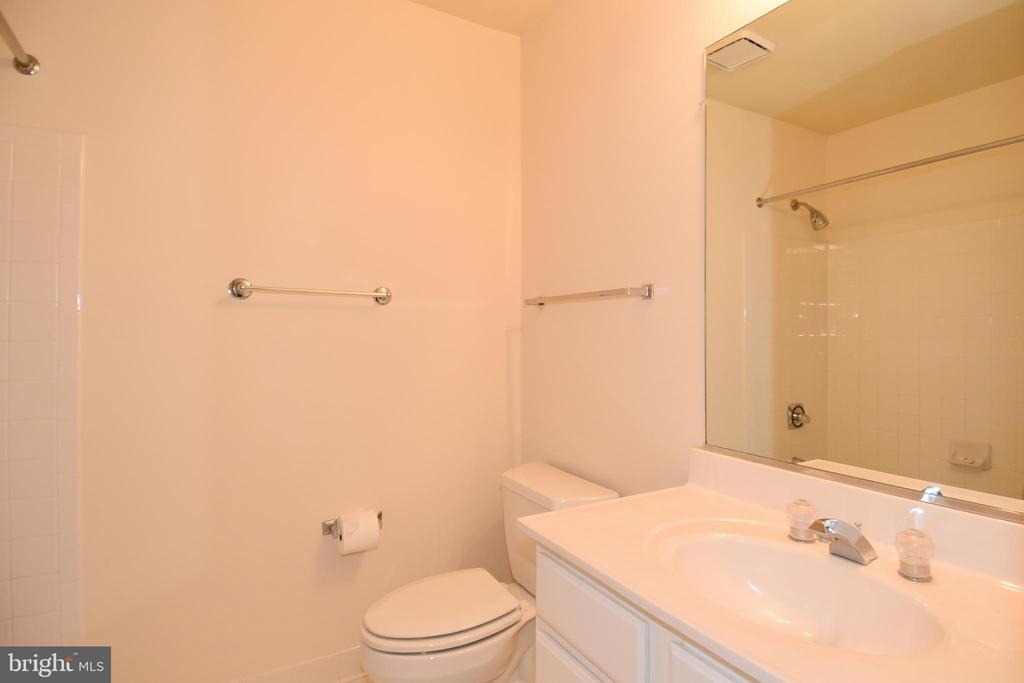 LOWER LEVEL 3RD FULL BATH - 8237 GALLERY CT, MONTGOMERY VILLAGE