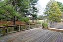 DOUBLE TIERED DECK RESEALED IN 2018 - 8237 GALLERY CT, MONTGOMERY VILLAGE