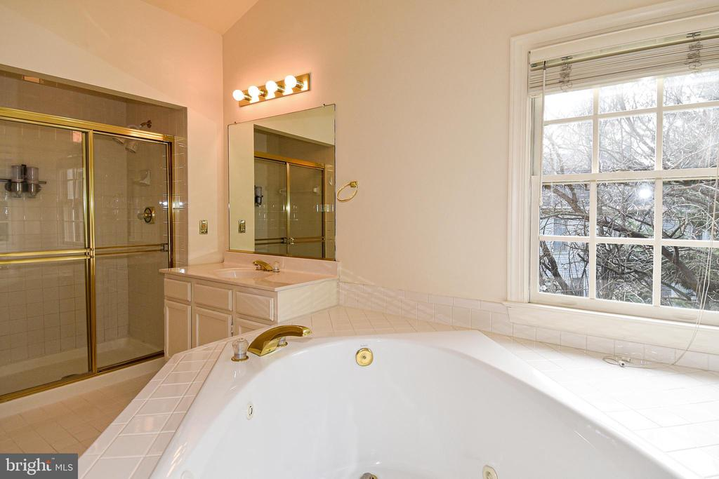 JACK AND JILL BATH HAS SEPARATE SHOWER - 8237 GALLERY CT, MONTGOMERY VILLAGE