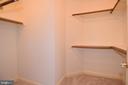 BEDROOM 2 WALK IN CLOSET - 8237 GALLERY CT, MONTGOMERY VILLAGE
