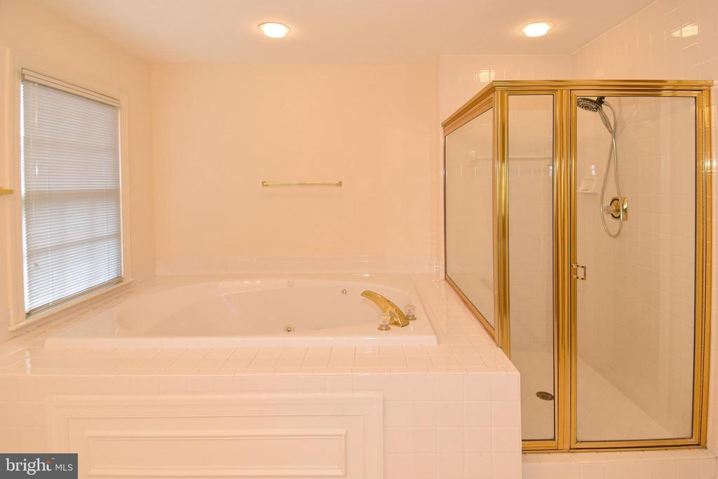 MASTER BATH 1 SEP SHOWER AND OVERSIZED JETTED TUB - 8237 GALLERY CT, MONTGOMERY VILLAGE