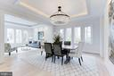 Stunning detail and designer lighting throughout - 1823 BEULAH RD, VIENNA