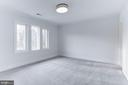 Large sunny bedrooms. All with WIC, en suite baths - 1823 BEULAH RD, VIENNA