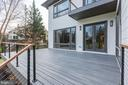 Large and modern Trex deck - 1823 BEULAH RD, VIENNA