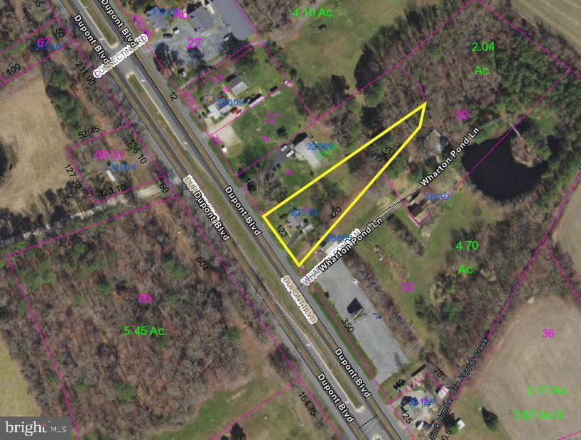 Property pour l Vente à Dagsboro, Delaware 19939 États-Unis