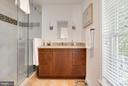 Master Bathroom - 3651 WINFIELD LN NW, WASHINGTON