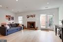 Lower Level Family Room - 3651 WINFIELD LN NW, WASHINGTON
