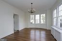 Dining Room - 7500 CONNECTICUT AVE, CHEVY CHASE