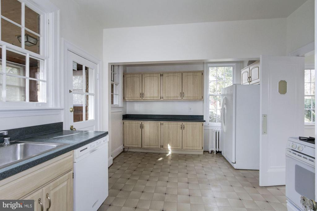 Kitchen - 7500 CONNECTICUT AVE, CHEVY CHASE