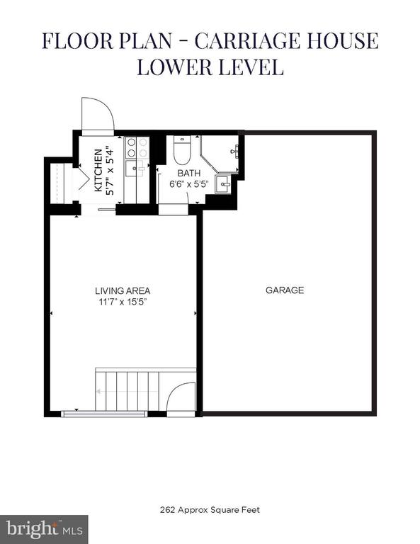 Carriage House Lower Level - 1633 16TH ST NW, WASHINGTON